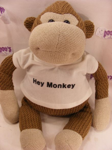 "18"" PG TIPS PLUSH MONKEY - HEY MONKEY!!"